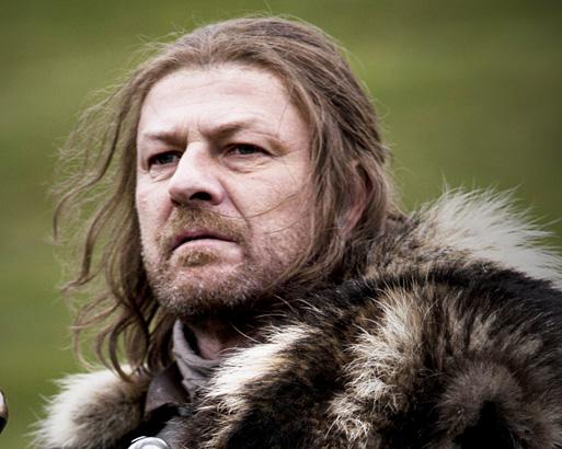 Sean Bean as Lord Eddard Stark