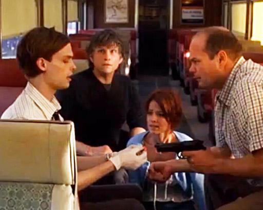 Matthew Gray Gubler Dr. Reid Criminal Minds TV show photo still series