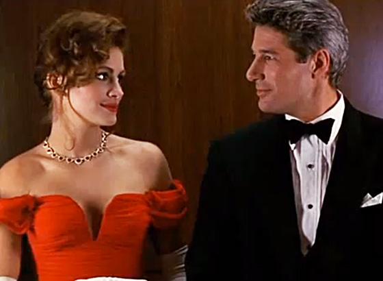 ... Roberts Richard Gere scene from pretty Woman movie photo still 1990