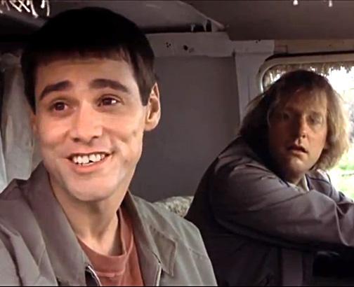 Jim Carrey as Lloyd Christmas—Dumb & Dumber (1994)