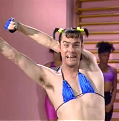 jim carrey in living color 1990 tv photo