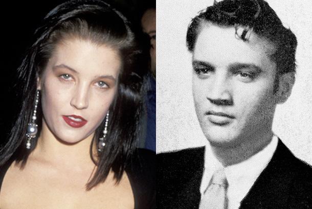 Lisa Marie Son Lisa Marie And Elvis Presley—