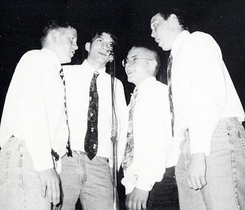 Ashton (Chris) Kutcher Singing His  Junior Year at Clear Creek-Amana High School, Tiffin, Iowa (1995)