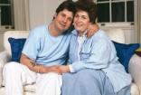 ozzy osbourne sharon couple home 1987 photo