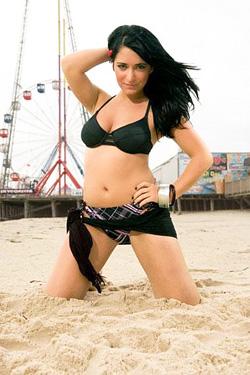 angelina pivarnick jersey shore 2009 tv show photo