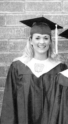 carrie underwood high school yearbookCarrie Underwood In High School