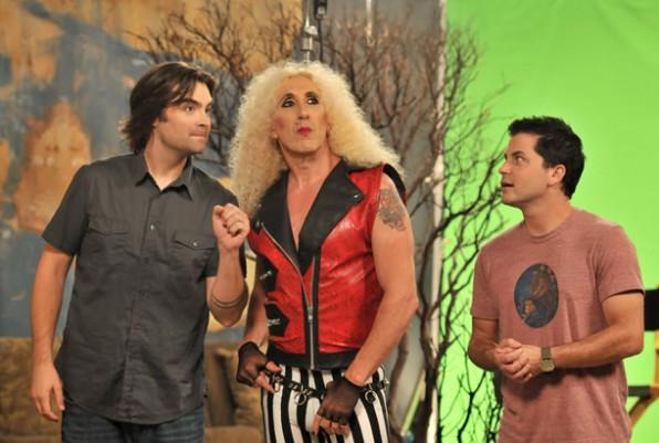 dee snider joe lynch adam green hollister tv 2012 photo
