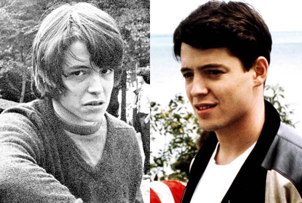 Peachy Matthew Broderick In High School In 1980 And Matthew Broderick Hairstyles For Men Maxibearus