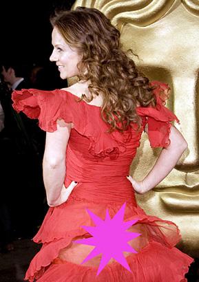 geri halliwell BAFTA 2008 photo