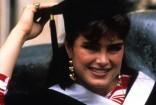 brooke shields college graduation princeton young 1987 photo
