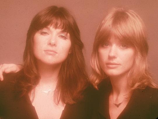 heart band ann nancy wilson portrait 1970s photo