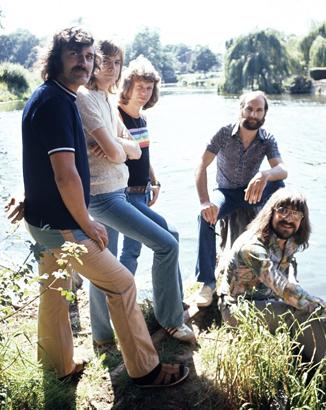 The Moody Blues in the U K , 1972