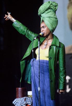 Erykah Badu, Lilith Fair, 1997