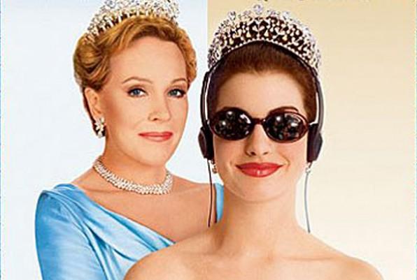 julie andrews anne hathaway princess diaries 10th anniversary DVD 2012