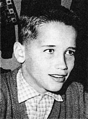Arnold Schwarzenegger in 7th Grade in Austria