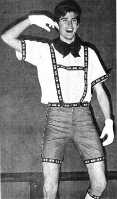 David Hasselhoff Junior Year 1969