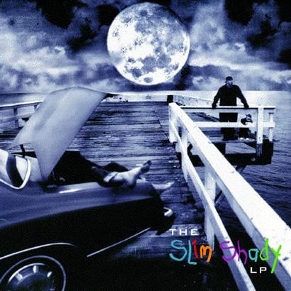 Eminem's Slim Shady Album Cover