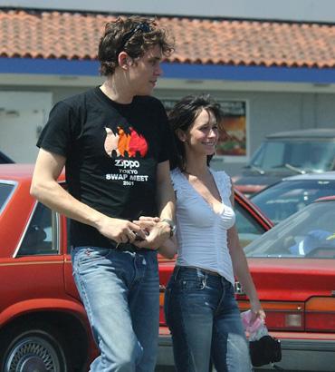 John Mayer And Jennifer Love Hewitt 2002