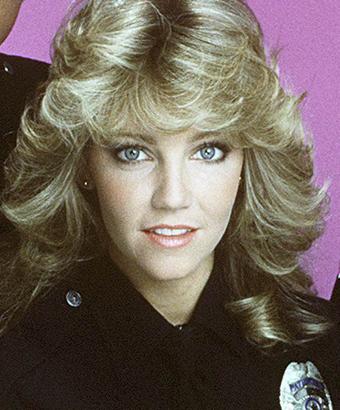 Heather Locklear As Officer Stacy Sheridan