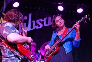 Rebecca Brown and jack Black in Austin