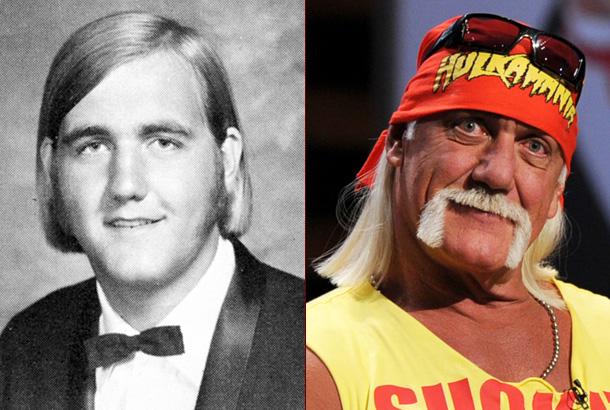 Hulk Hogan Then and Now