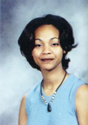 Zoe Saldana, Senior, Newtown High School, Elmhurst, NY