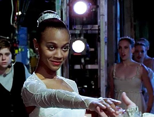Zoe Saldana in Center Stage (2000)