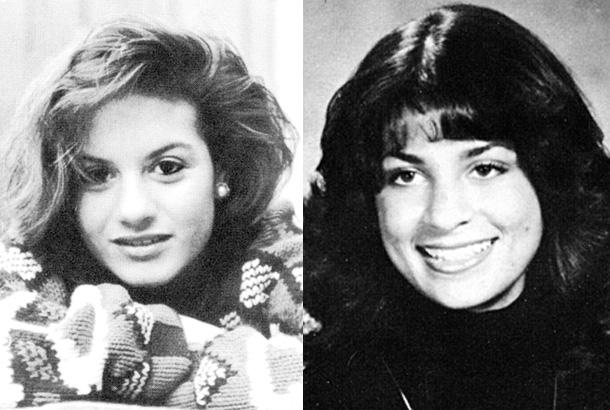 kara dioguardi young high school yearbook 1988 photo paula abdul 1980