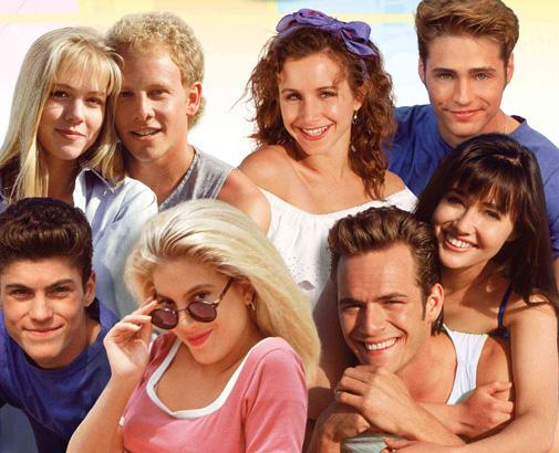 Beverly Hills 90210 cast photo