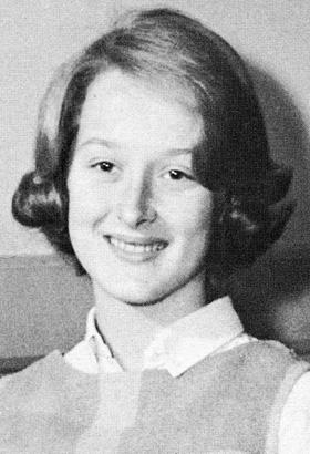 Meryl Streep Freshman Year