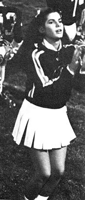 Sandra Bullock Junior Year 1981, Washington Lee High School, Arlington, VA, cheerleader