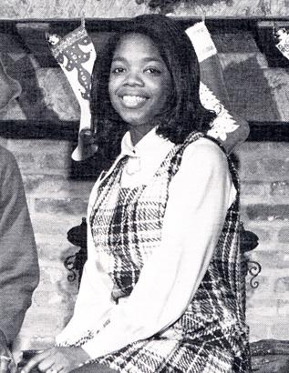 oprah winfrey high school yearbook young 1971 most popular photo