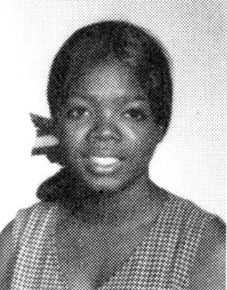 oprah winfrey yearbook high school young sophomore 1969 photo