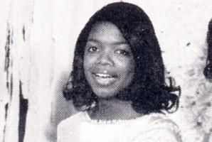 oprah winfrey yearbook high school young miss east nashville 1970 photo