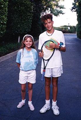 dj redfoo lmfao stefan gordy christine lakin photo young tennis