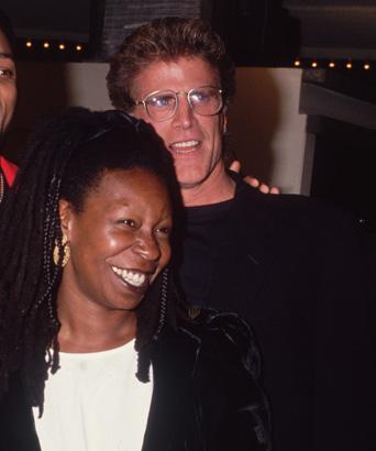 whoopi goldberg ted danson couple 1993 photo