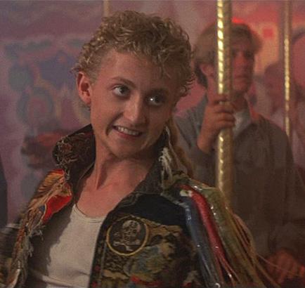 Then: Alex Winter as Marko in The Lost Boys, 1987
