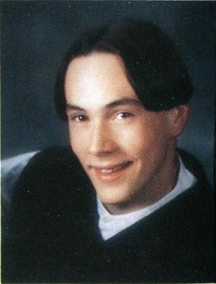Chris Klein, Senior Year Millard West High School, 1997