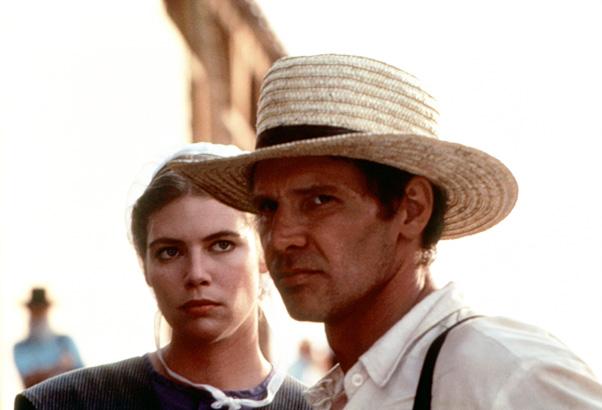 Harrison Ford as John Book in Witness (1985)