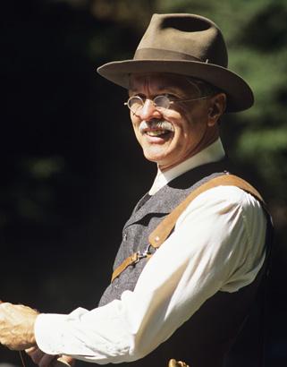THEN: Tom Skerritt as Reverand Maclean in A River Runs Through It—1992