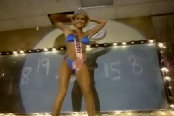 "Lillian Muller in Van Halen's ""Hot for Teacher"" video (1984)"