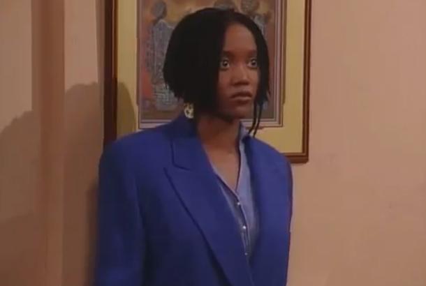 "Erika Alexander as Maxine ""Max"" Felice Shaw in Living Single (1993-1998)"